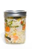 Gecultiveerde of vergiste groenten Stock Foto's