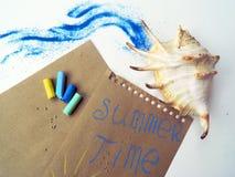 Gedächtnis über Sommerzeit Stockfotografie