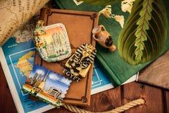 Gedächtnisse von Reisen Lizenzfreies Stockfoto