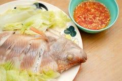 Gedämpfte Fische stockfotos