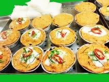 Gedämpfte Fische mit Currypaste lizenzfreies stockfoto