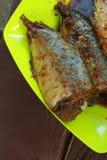 Gedämpfte Fische mit Sojasoße Lizenzfreies Stockbild