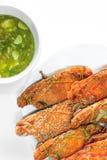 Gedämpfte Krabben und Meeresfrüchte Stockbild