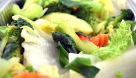 Gedämpftes Gemüse Stockfoto