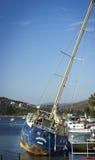 Gedaalde Boot Stock Fotografie