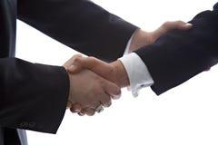 Gedaan en ondertekende overeenkomst Royalty-vrije Stock Afbeeldingen
