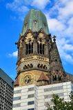 Gedachtniskirche in Berlin. Stock Image
