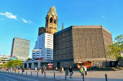 Gedachtniskirche em Berlim, Alemanha Imagem de Stock Royalty Free