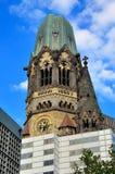 Gedachtniskirche i Berlin Fotografering för Bildbyråer