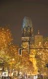 Gedaechtniskirche de Berlín Foto de archivo