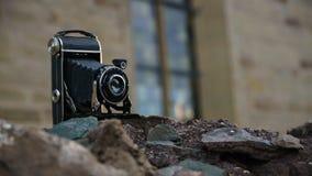 Gedateerde Camera Royalty-vrije Stock Foto's