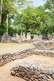 Gede Ruins Royalty Free Stock Photos