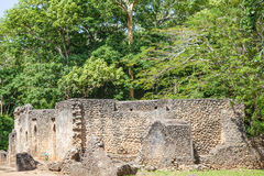 Gede Ruins Royalty Free Stock Photography