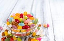 Gedeelte van Jelly Beans Royalty-vrije Stock Afbeeldingen