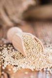 Gedeelte van Quinoa Stock Afbeeldingen