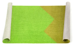 Gedeeltelijk schoongemaakt tapijt royalty-vrije stock fotografie