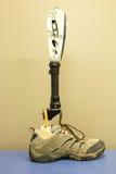 Gedeeltelijke beenprothese Stock Foto's