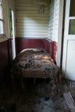 Gedegradeerd bed Stock Foto's