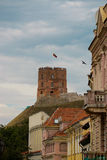 Gedemin tower in Vilnius, Lithuania.  Stock Photography