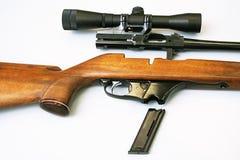 Gedemonteerd geweer Stock Foto's
