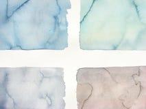 Gedempt Abstract waterverfkruis als achtergrond Royalty-vrije Stock Afbeelding