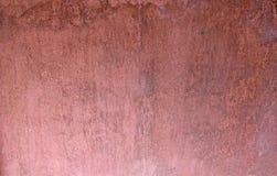 Gedempte rozewater gekleurde gipspleisterachtergrond Royalty-vrije Stock Foto's