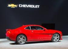 Gedenkausgabe 2015 Chevrolet Camaro SS Lizenzfreie Stockbilder