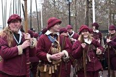 Gedenken der König Charles I Ausführung stockfoto