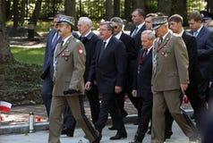 Gedenken der Opfer von Totalitarism Stockfotos