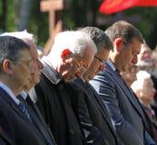 Gedenken der Opfer von Totalitarism Lizenzfreie Stockbilder