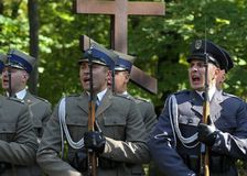 Gedenken der Opfer von Totalitarism Lizenzfreies Stockfoto