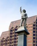 Monument des verbündeten Soldaten Stockfotos