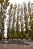 Gedenkstätte von Soldaten, die an den Wunden während des Zweiten Weltkrieges starben Lizenzfreies Stockbild