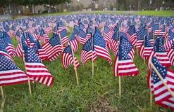 Gedenkteken 1 van vlaggen Royalty-vrije Stock Foto's