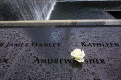 9/11 Gedenkteken Stock Foto