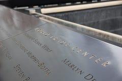 9/11 Gedenkteken Stock Afbeeldingen