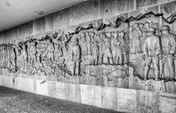 Gedenkteken aan de Kinderenslachtoffers van de Oorlog, Lidice - Tsjechische repu Stock Afbeeldingen