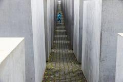 Gedenkteken aan de Moorde Joden in Berlijn, Duitsland Stock Foto