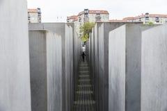 Gedenkteken aan de Moorde Joden in Berlijn, Duitsland Stock Afbeeldingen