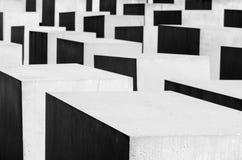 Gedenkteken aan de Moorde Joden van Europa Stock Foto