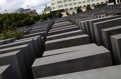 Gedenkteken aan de Moorde Joden van Europa. Royalty-vrije Stock Fotografie