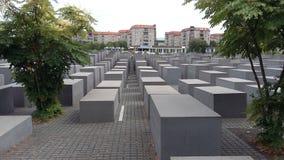 Gedenkteken aan de Moorde Joden van Europa Royalty-vrije Stock Afbeeldingen