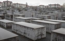 Gedenkteken aan de Moorde Joden van Europa in Berlijn, Duitsland stock afbeeldingen