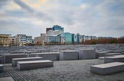 Gedenkteken aan de Moorde Joden van Europa, Berlijn, Duitsland stock foto's
