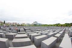 Gedenkteken aan de Moorde Joden van Europa, Berlijn, Duitsland Stock Afbeelding