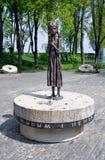 Gedenkteken aan de slachtoffers van Holodomor in Kiev, de Oekraïne Royalty-vrije Stock Fotografie