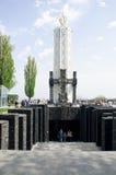 Gedenkteken aan de slachtoffers van Holodomor in Kiev, de Oekraïne Stock Fotografie