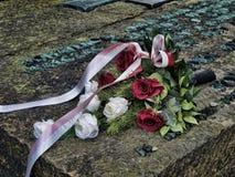 Gedenkteken aan hen die in Auschwitz stierven Royalty-vrije Stock Afbeeldingen