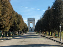 Gedenkteken aan Italiaanse militairen die stierven Royalty-vrije Stock Afbeeldingen