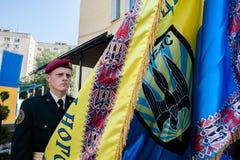 Gedenkteken aan militairen van de Nationale Wacht royalty-vrije stock afbeelding